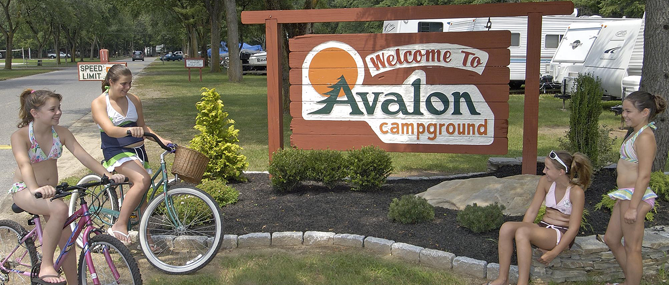 Avalon Campground | For the finest camping on the Jersey Cape